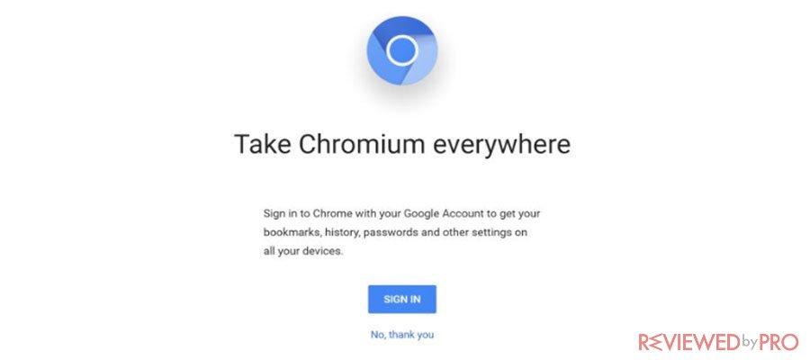 Take Chromium Everywhere