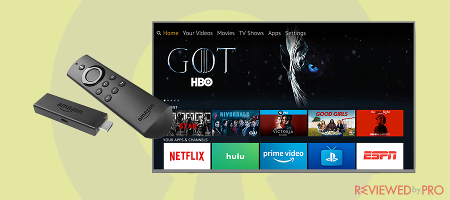 The Best VPN for Amazon Fire TV Stick