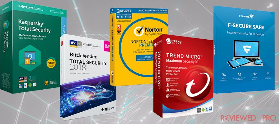Top 5 best internet security premium