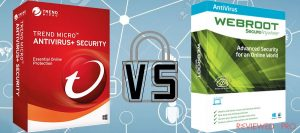 Trend Micro Antivirus and Security VS Webroot SecureAnywhere Security Plus