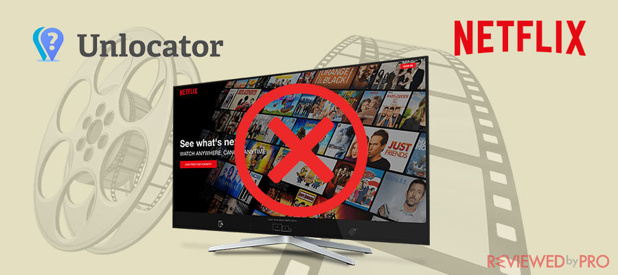 Unlocator doesn't work with Netflix?