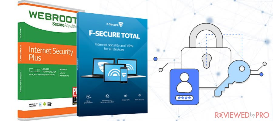 Webroot SecureAnywhere Internet Security Plus VS F-Secure Total