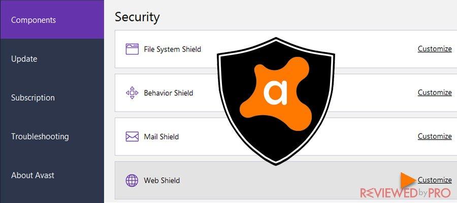 avast security chest