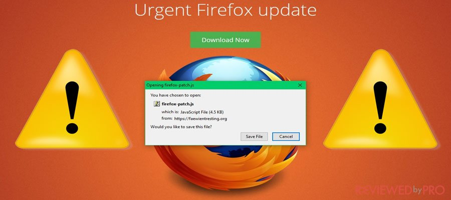 What is Critical Firefox Update and how to remove it?