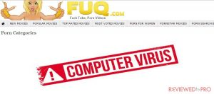 What is fuq.com browser hijacker virus and how to remove it?