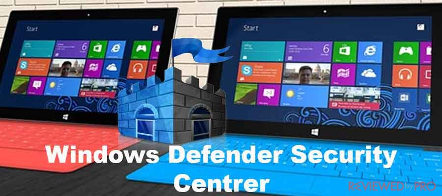 Windows Defender Security Center App