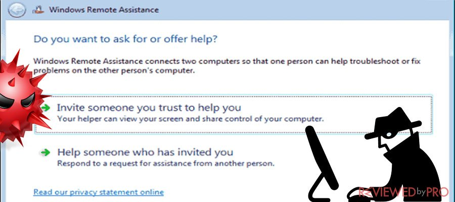 Vulnerability Windows remote assistance
