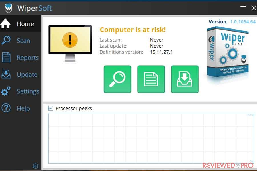 WiperSoft real-time protection