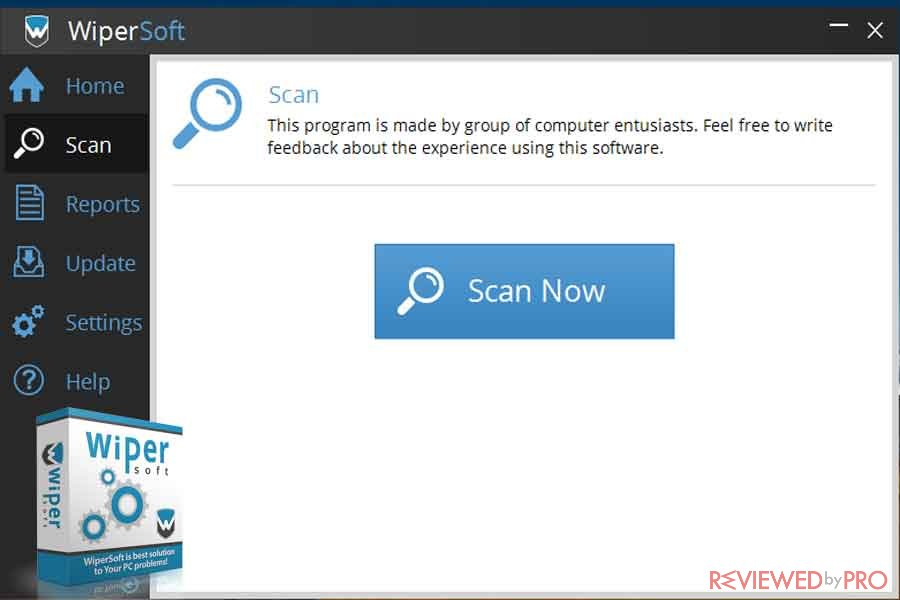 WiperSoft Scan