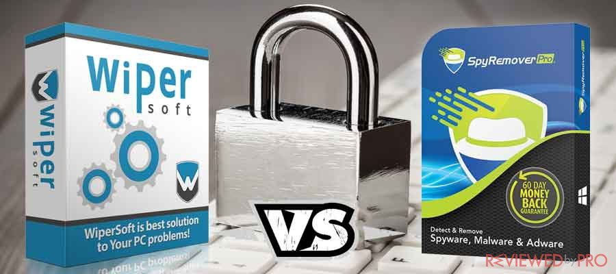 WiperSoft VS SpyRemover