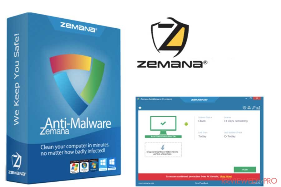 zemana antimalware protection