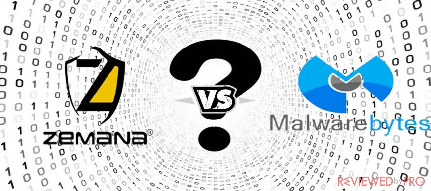 Zemana AntiMalware VS Malwarebytes