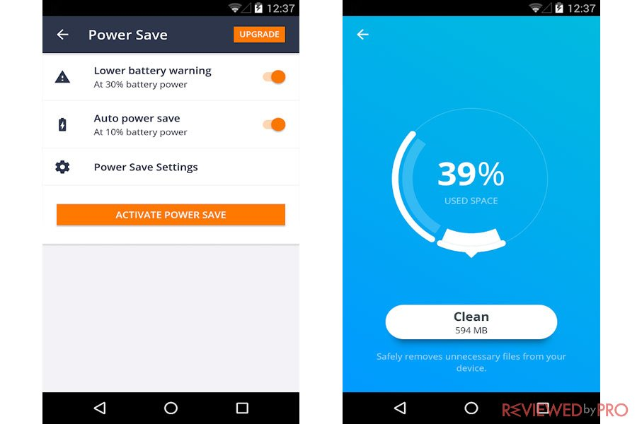 AVG Antivirus for Android Save Power