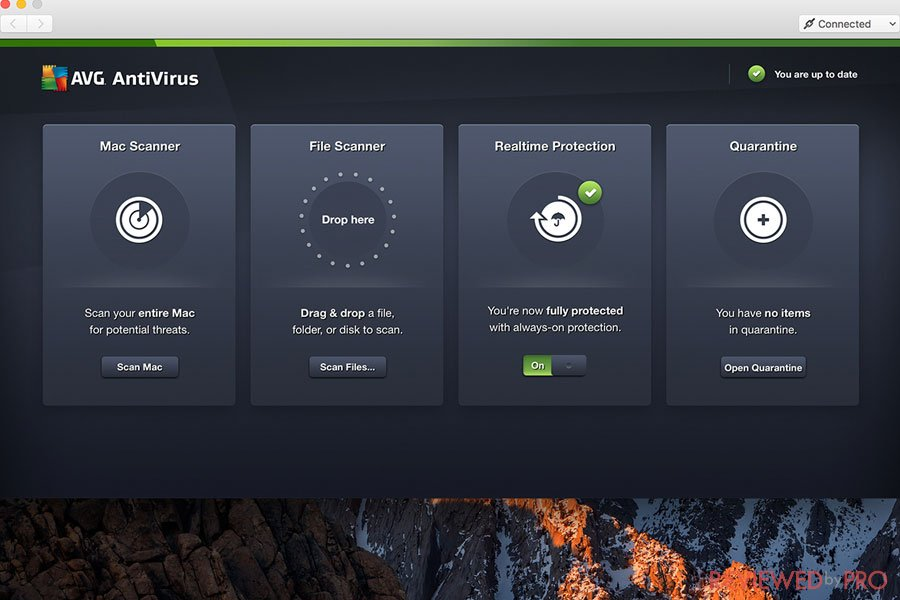 avg for mac antivirus features