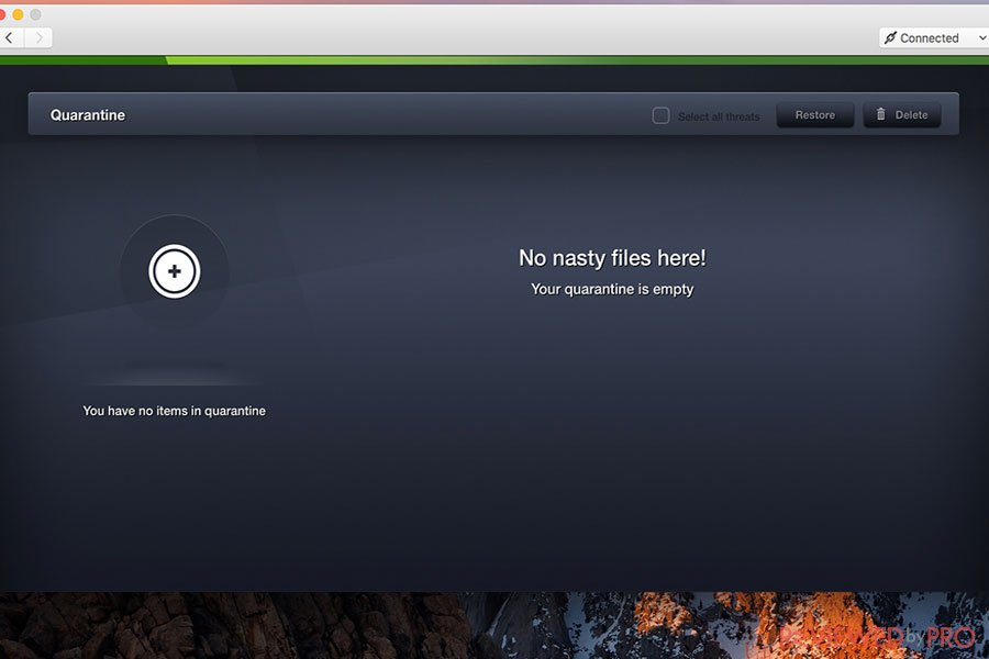 AVG no nasty files detected
