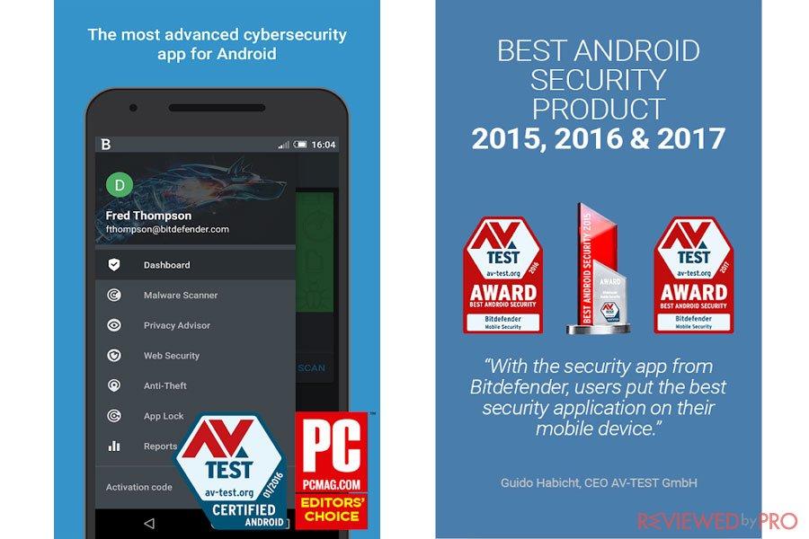 Bitdefender mobile antivirus AV