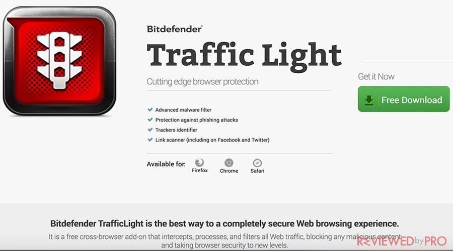 Bitdefender Traffic light