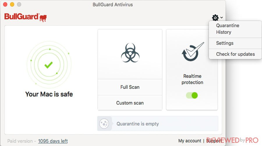 BullGuard Internet Security for Mac
