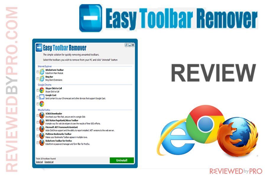 Easy Toolbar Remover