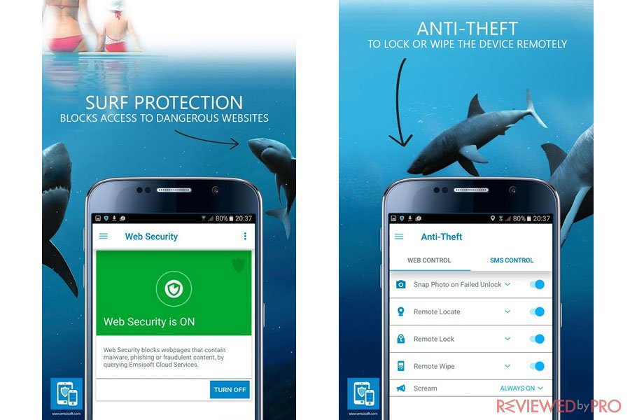 Emsisoft Security Protection for Android