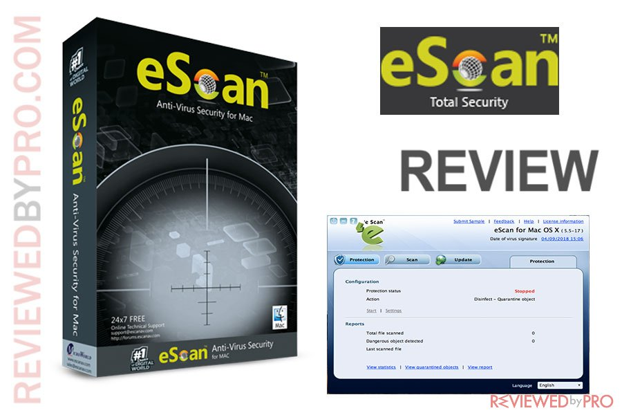 eScan Anti-virus Security for Mac Review