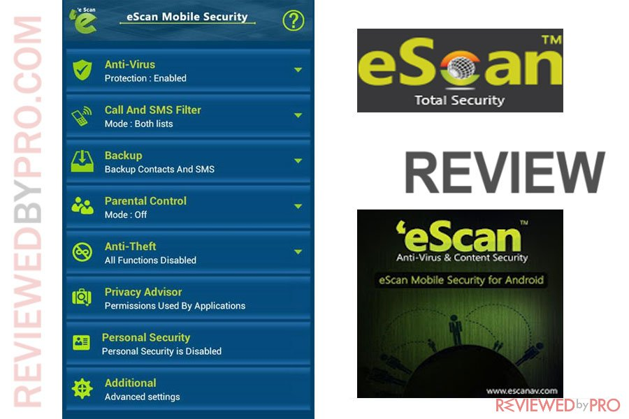 eScan Mobile Security ror Android Review