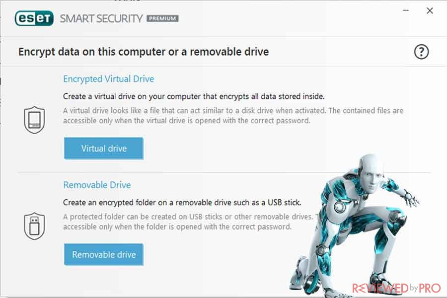 ESET drive security