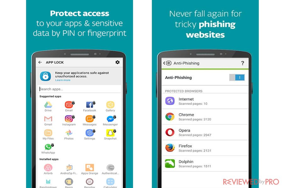 ESET Mobile Security for Android protection