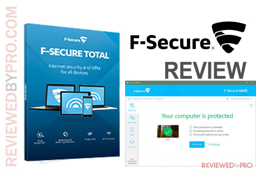 F Secure Total Review 2018