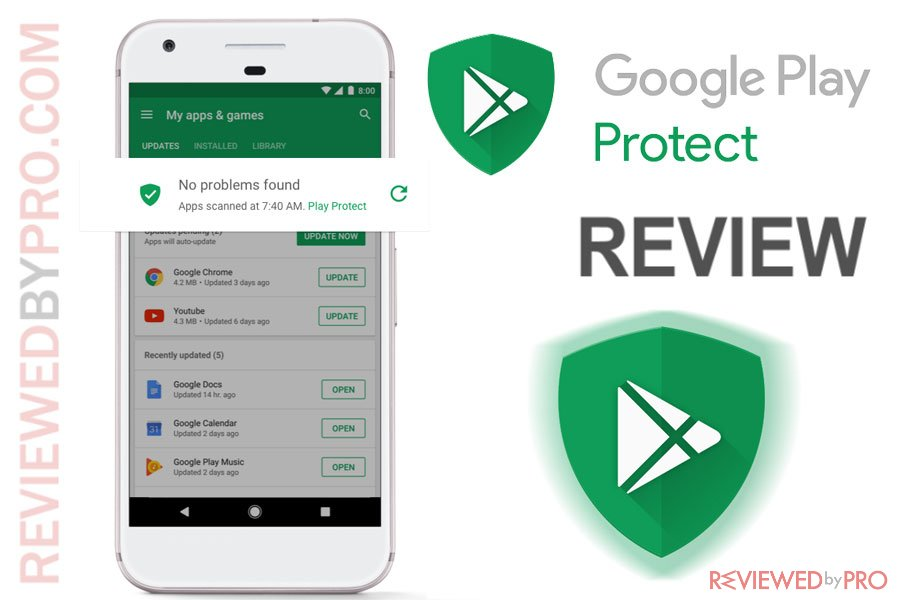 Google Play protect for Android review