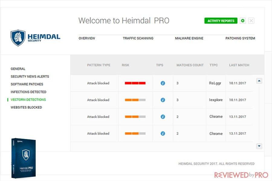 Heimdal Pro Features