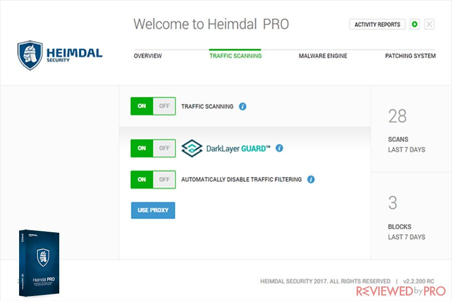 Welcome Heimdal Pro Security