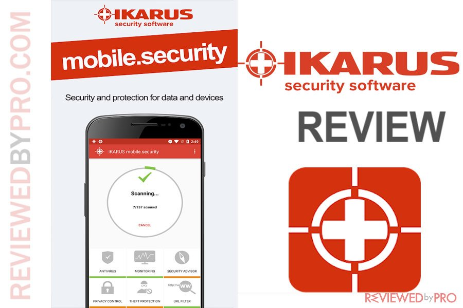 IKARUS mobile.security for Android Review