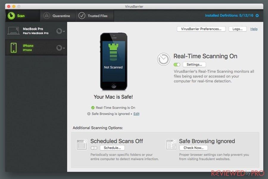 Intego Mac Internet Security Safe
