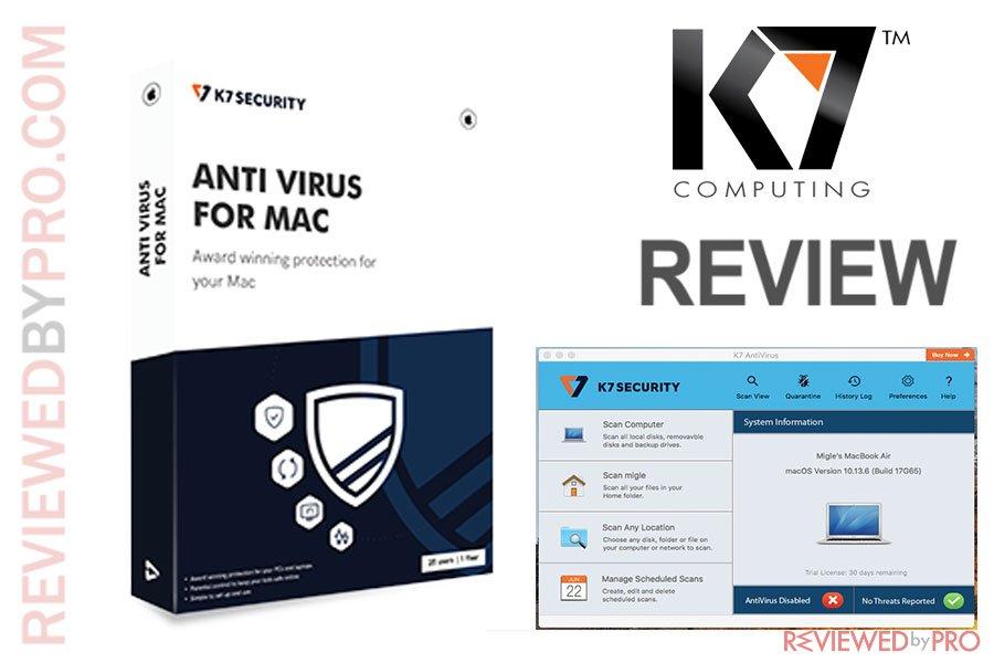 K7 Antivirus for Mac
