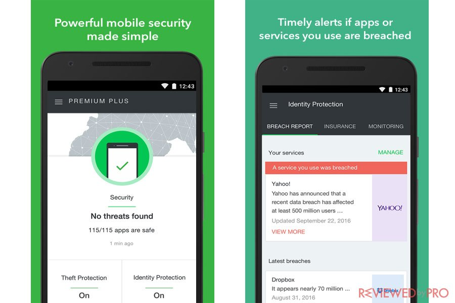 Lookout mobile antivirus and security
