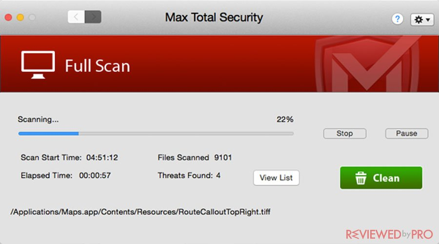 Mac Total Security Full Scan