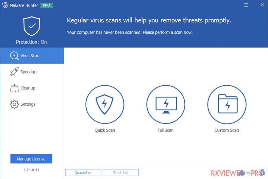 Malware Hunter Virus Scan