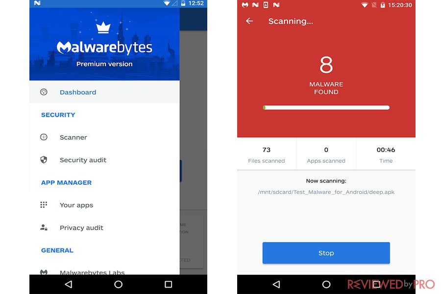 malwarebytes for android mobile security
