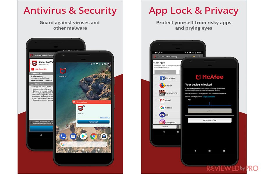 McAfee Mobile Security and Privacy