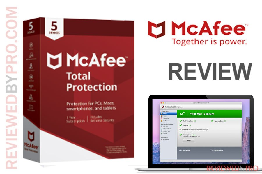 McAfee Total Protection: Antivirus for Mac