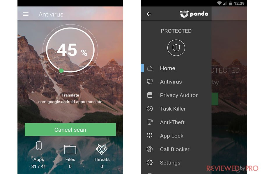 Panda Free Security for Android