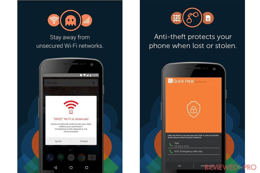 Quick Heal Mobile Security & Antivirus for Android