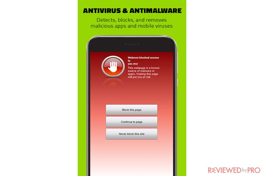 Webroot Mobile Security Antimalware