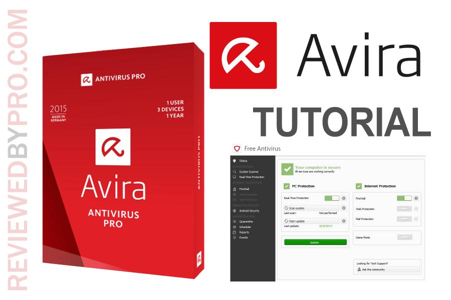 Avira user manual