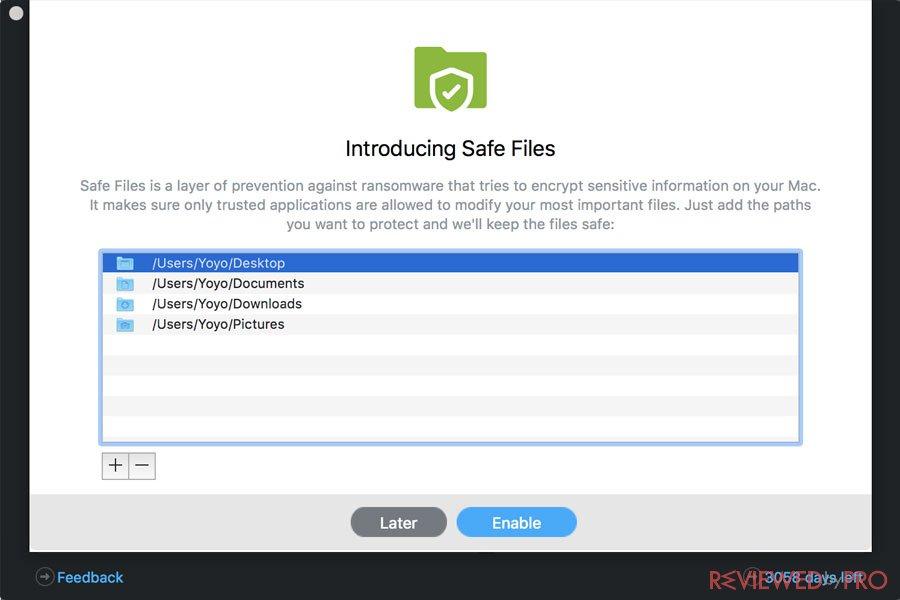 Safe Files