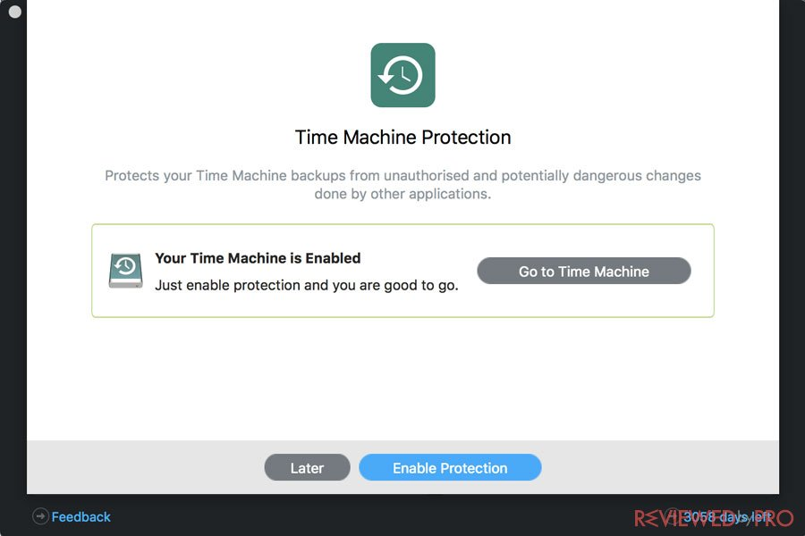 Time Machine Protection
