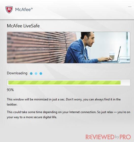 McAfee LiveSafe user manual