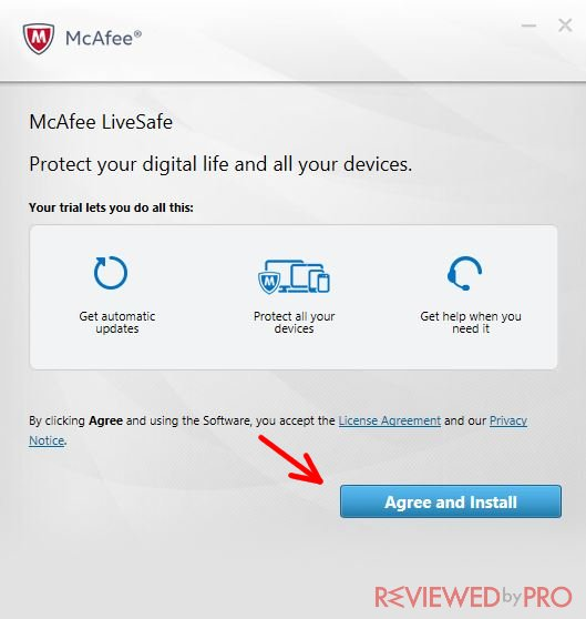 McAfee LiveSafe is the company's premium antivirus software, which in added cloud-based malware analysis to its feature set. takes little time to download on pc. mcafee_trial_setup 4/5(14).