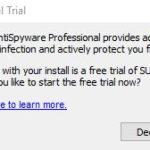 SUPERAntiSpyware start trial